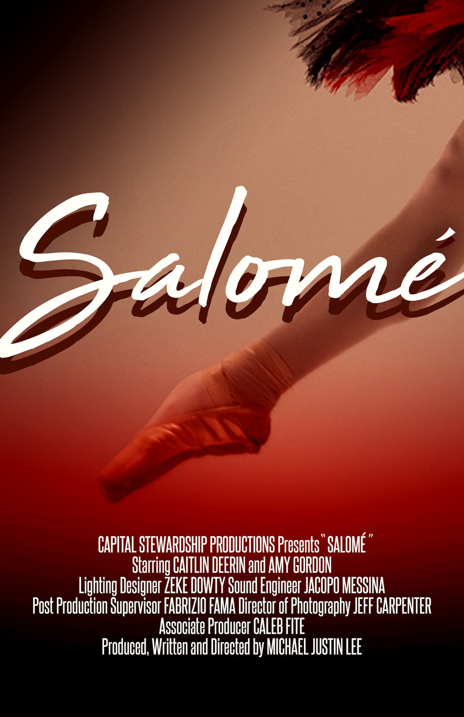 SALOMÉ vertical movie poster
